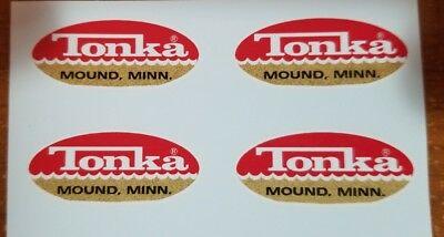 TONKA TRUCK OVAL Logo Decal 1962.