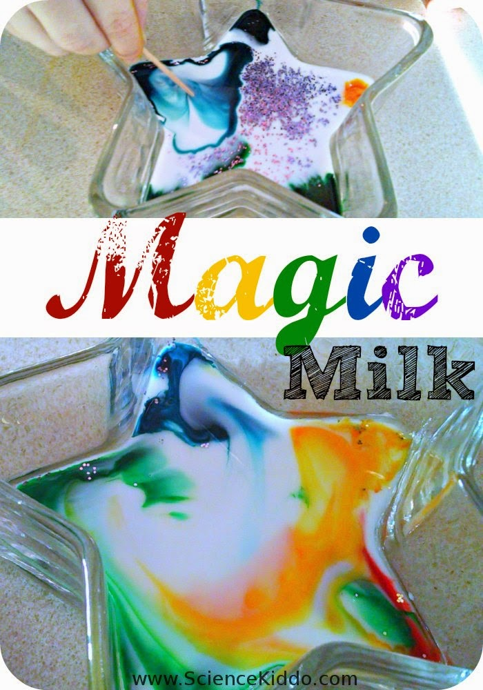 Magic milk clipart.