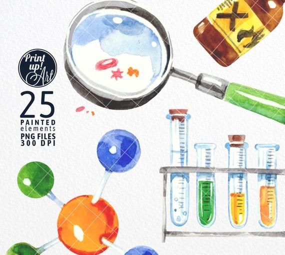 SCIENCE clipart SCIENCE SUPPLIES clipart chemistry and.