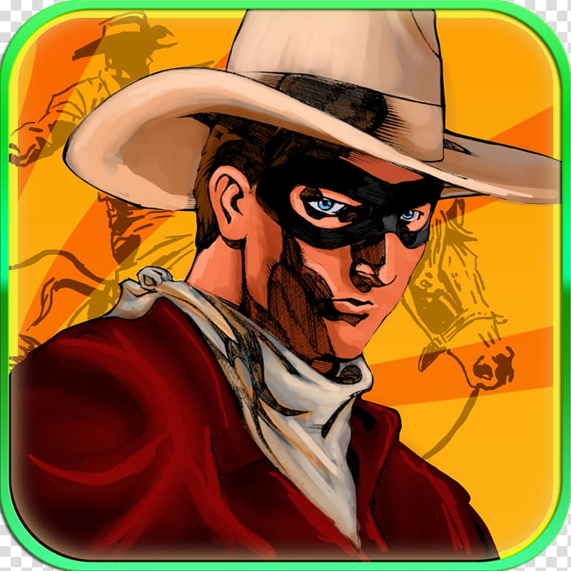 The Lone Ranger transparent background PNG cliparts free.