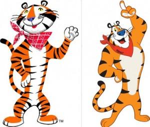 Clipart tony the tiger.