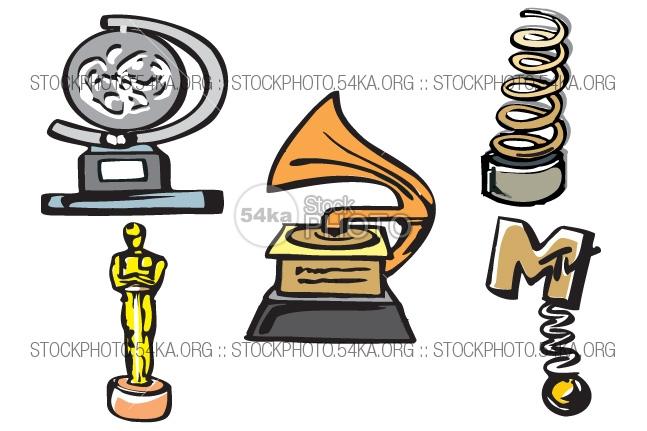 Tony Award Clipart.