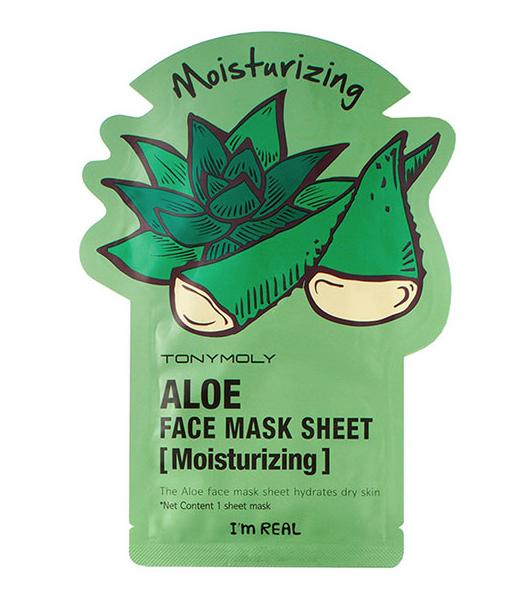 Tonymoly I\'m Real Aloe Mask Sheet.