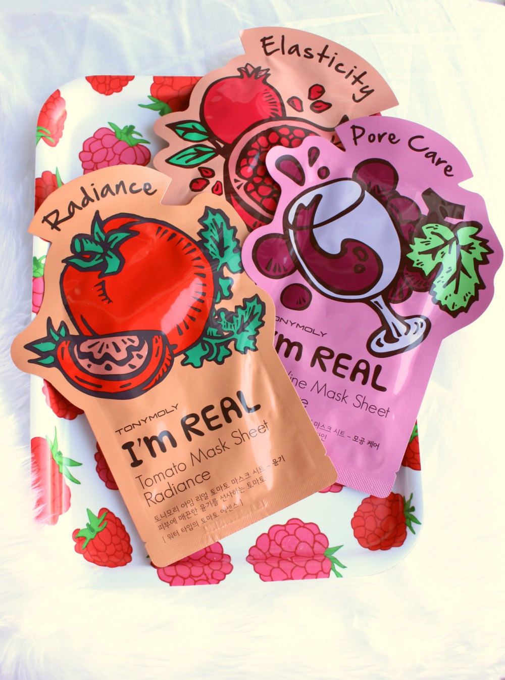 Tony Moly I\'m Real Sheet Masks Review.
