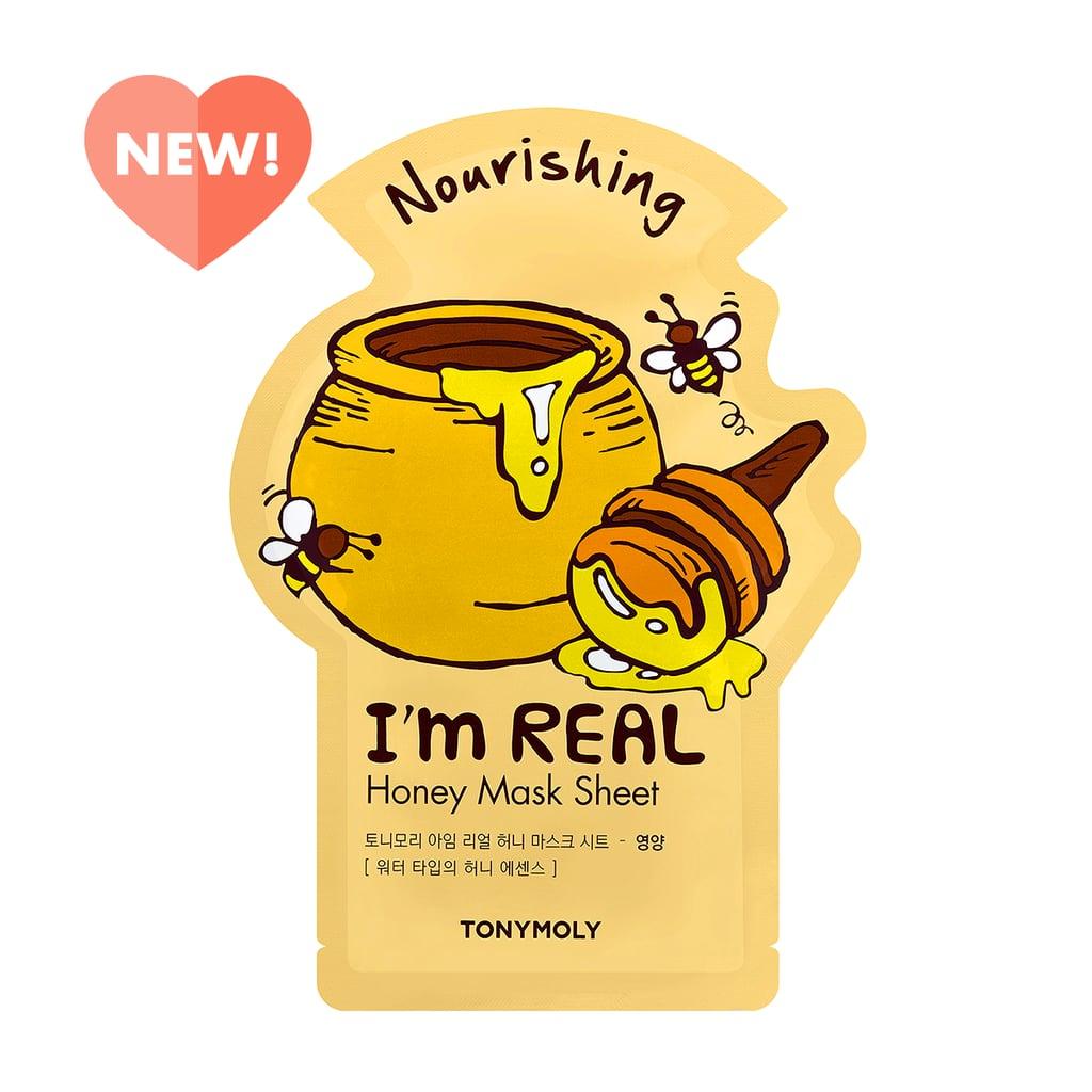 TonyMoly I\'m Real Honey Sheet Mask.