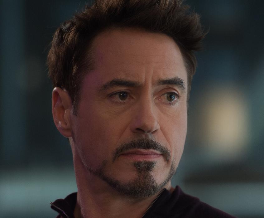 Tony Stark Beard Style.