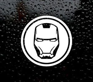 Details about IRON MAN MARVEL DECAL LOGO FOR CAR/VAN/LAPTOP VINYL STICKER  TONY STARK SUPERHERO.
