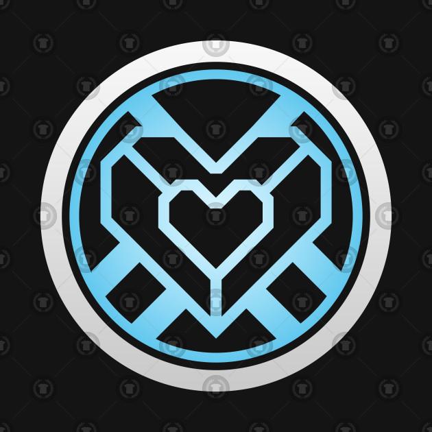 Tony Stark Iron Man Heart Arc Reactor.