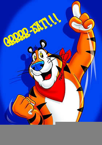 Tony The Tiger Clipart.