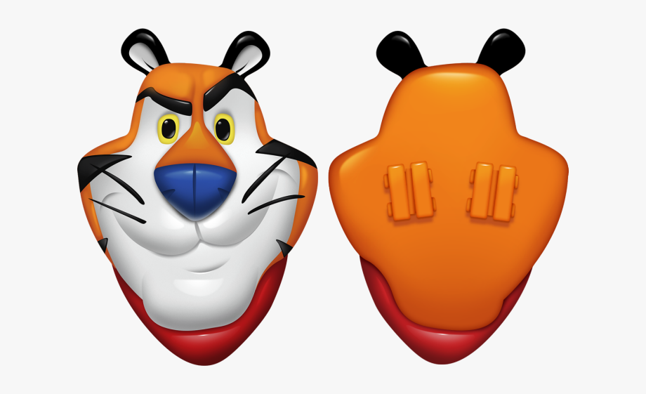 Tony The Tiger Bike Spokes, Cliparts & Cartoons.