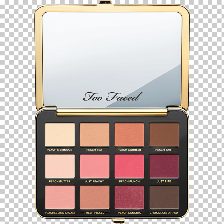Too Faced Just Peachy Mattes Viseart Eye Shadow Palette Too.