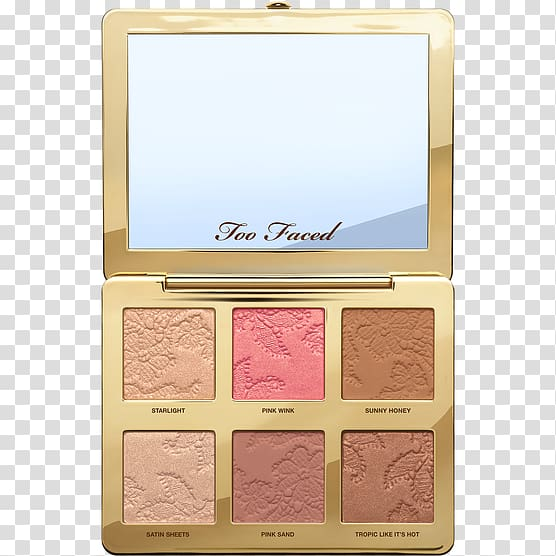 Too Faced Natural Eyes Highlighter Cosmetics Palette, Face.
