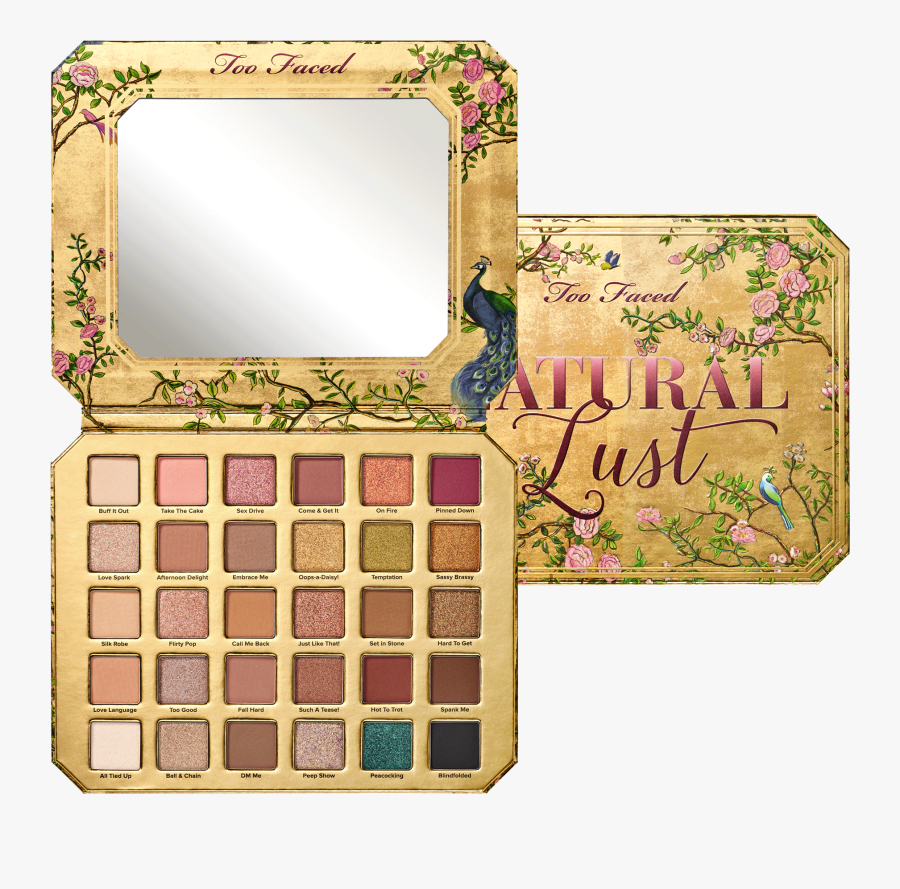 Palette Too Faced Natural Lust , Free Transparent Clipart.