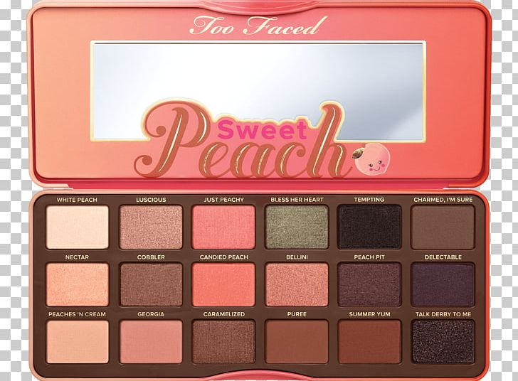 Too Faced Sweet Peach Too Faced Peanut Butter & Jelly Eye.