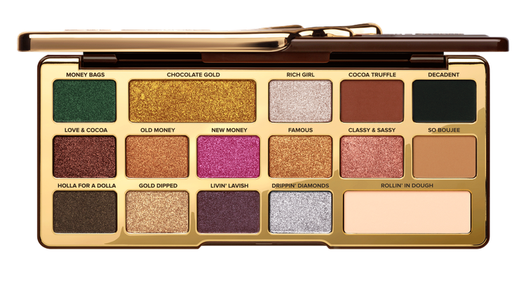 Too Faced Chocolate Gold Eye Shadow Palette Reviews 2019.