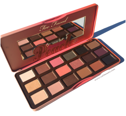 Too Faced Sweet Peach Eyeshadow Palette: Swatches and First.