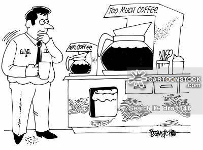 Showing post & media for Too much coffee cartoons.