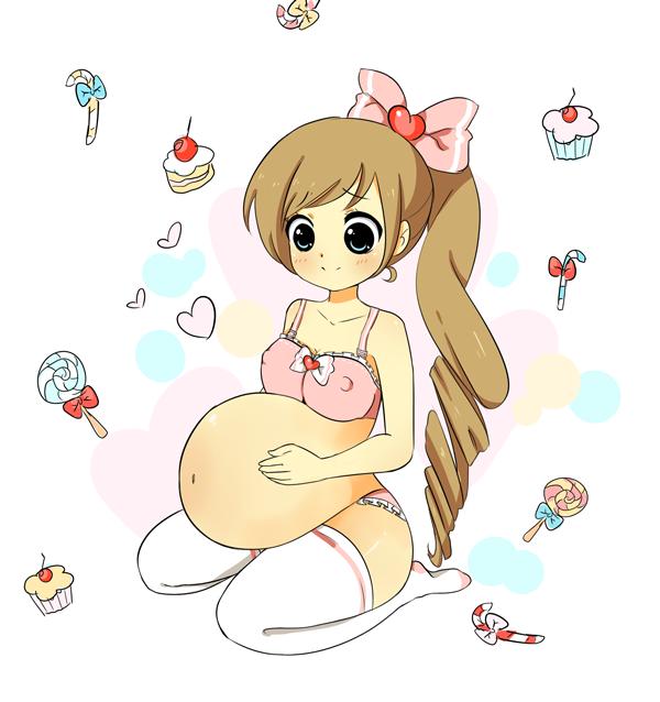 Too many sweets by Miichix on DeviantArt.
