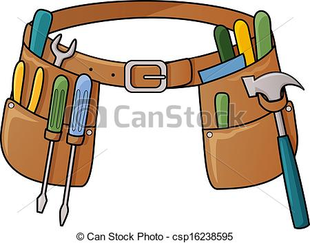 Tool belt Illustrations and Clipart. 1,152 Tool belt royalty free.
