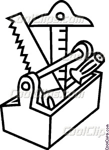 Tool Box Clip Art Black And White Images & Pictures Becuo.