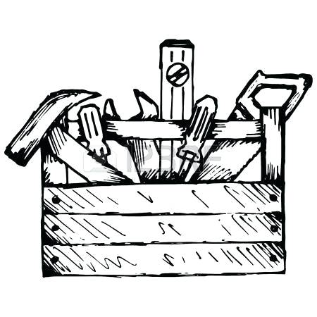 Clip Art Tool Box Free Toolbox Tools Collection Png Clipart.
