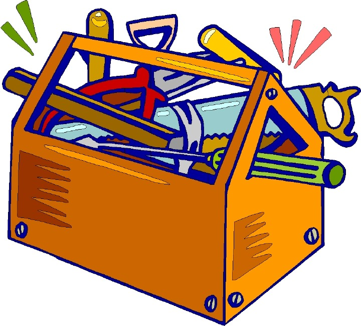 Tool box clipart #4