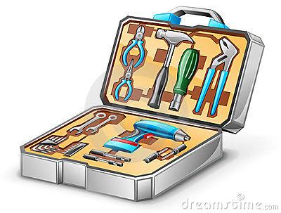 Tool kit clipart.