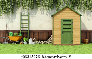 Tool shed Clipart and Stock Illustrations. 51 tool shed vector EPS.