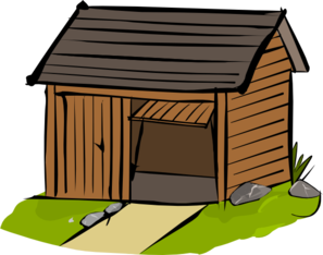 Tool shed clipart.
