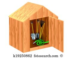 Tool shed Clip Art Royalty Free. 76 tool shed clipart vector EPS.