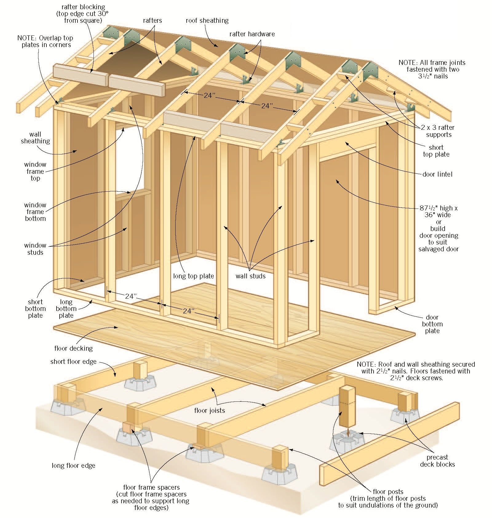Shed Plans.