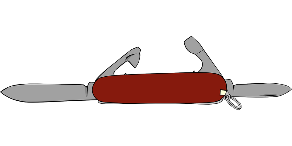 Free vector graphic: Swiss, Knife, Opener, Can, Tool.