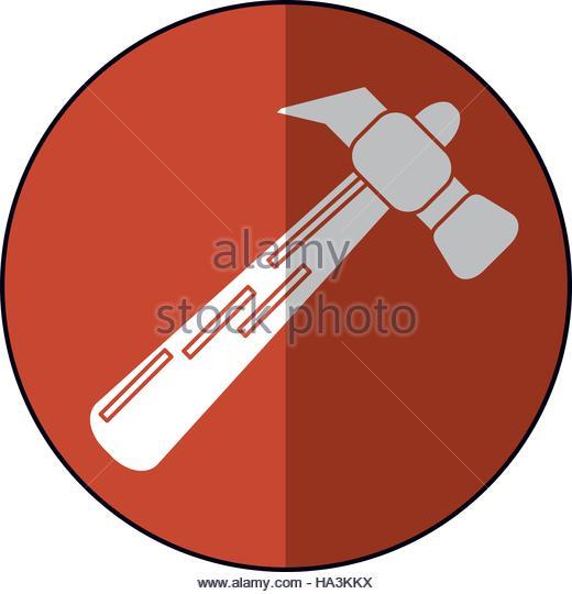 Hammer Tool Steel Wooden Icon Stock Photos & Hammer Tool Steel.