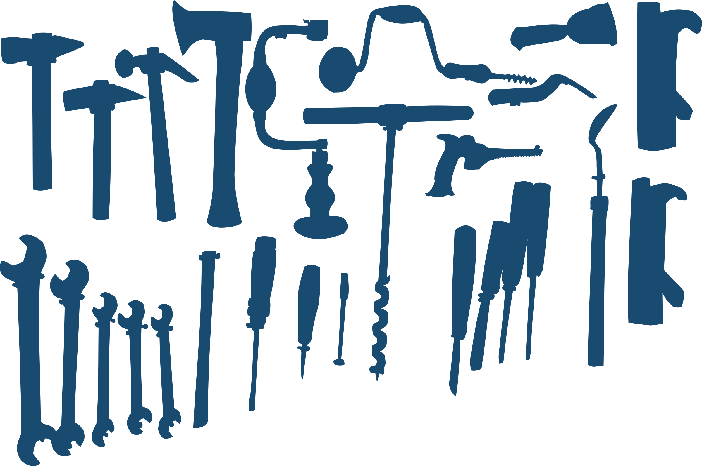 Tool wall clipart - Clipground