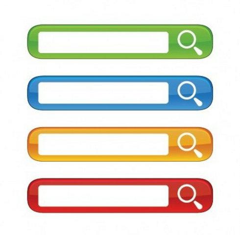 Search bar clipart.