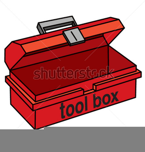 Animated Toolbox Clipart.