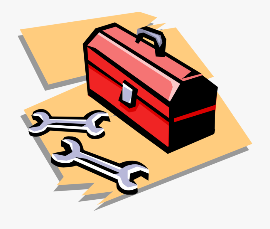 Clip Royalty Free Toolbox Vector Cartoon.