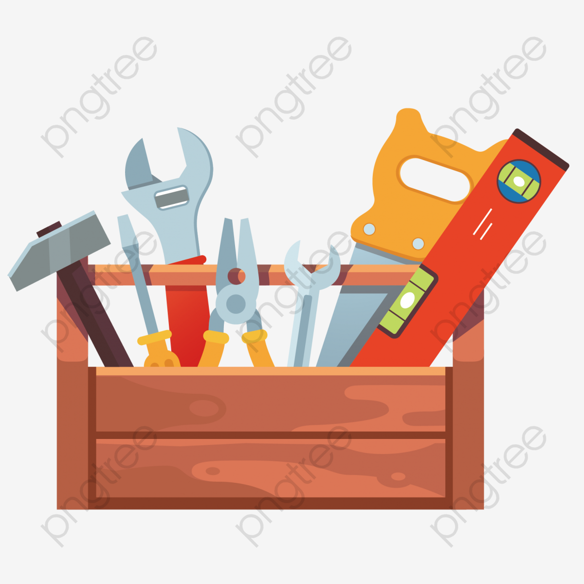 Vector Toolbox, Vector, Hold All, Flat PNG and Vector with.