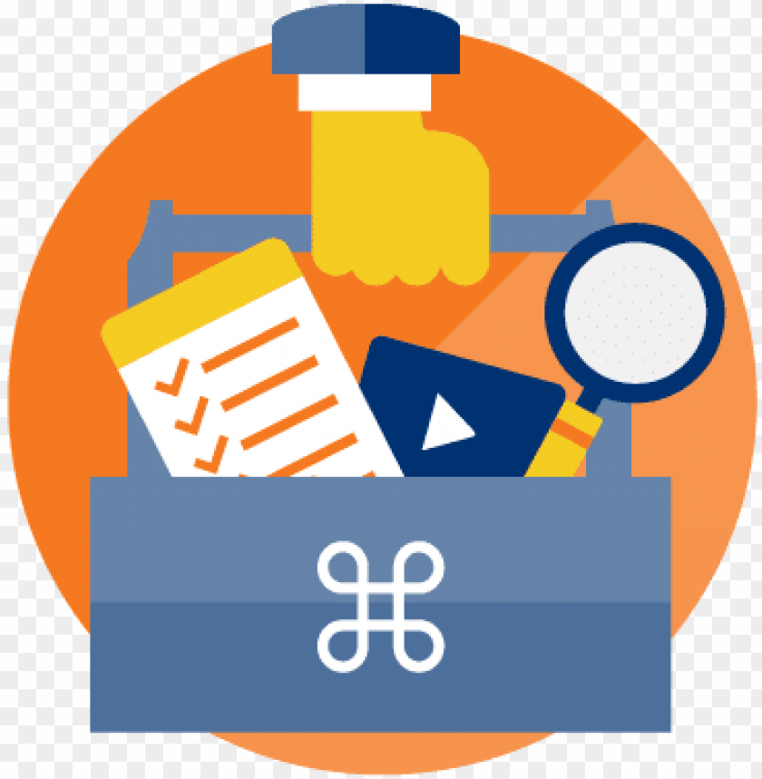 small business toolkit icon.