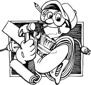 Tool Man Clipart.