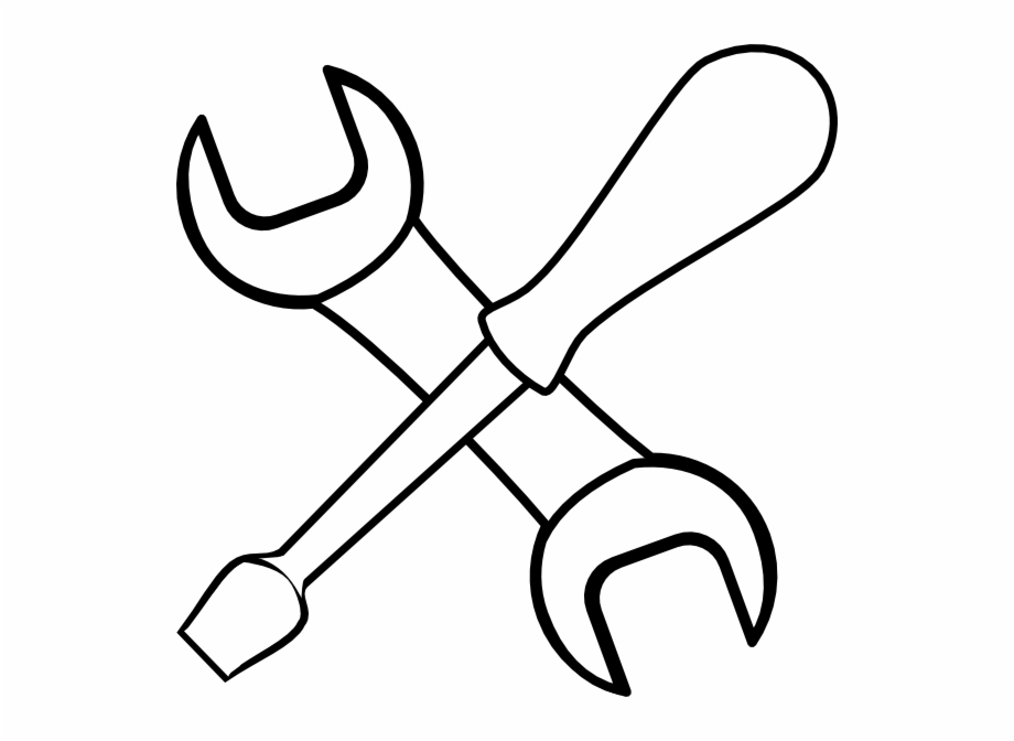 Free Tools Clip Art Black And White, Download Free Clip Art.
