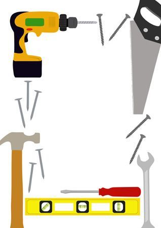 Image result for tool border clip art.