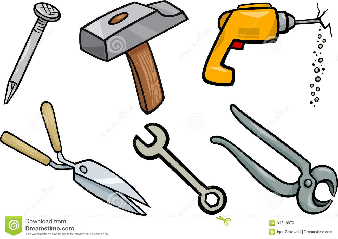 Popular Woodworking Tools Hanging On A Pegboard Stock Image | CartoonDealer.com #80170225