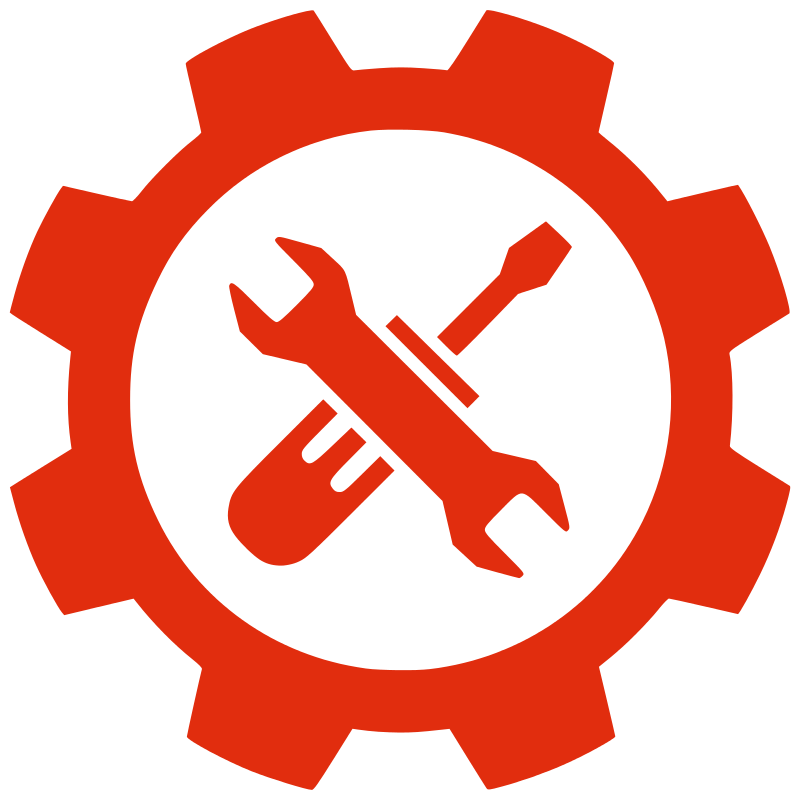 Free Clipart: Gear tools.