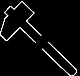 Carpenter Tools Icon Clipart.