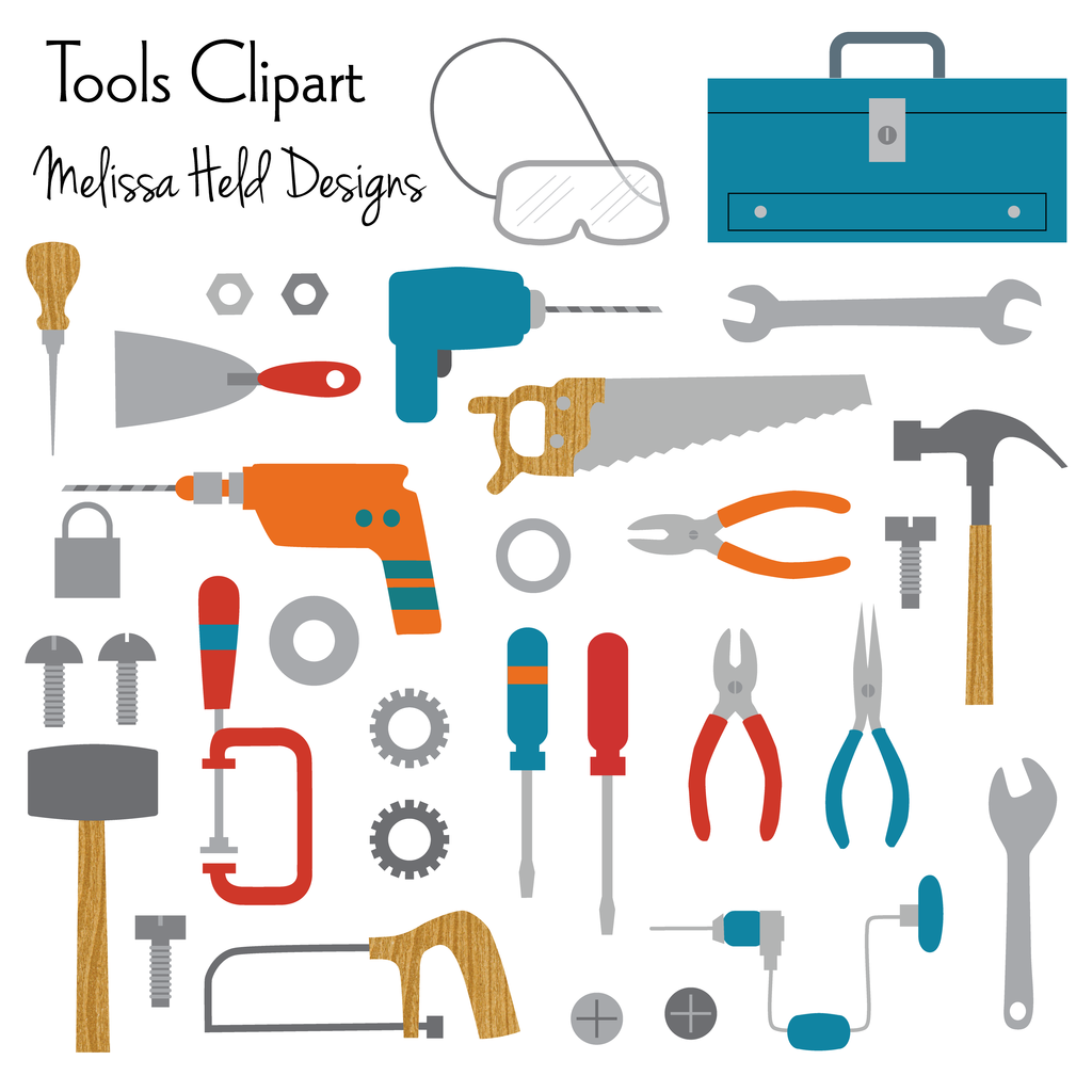 Clipart tools 4 » Clipart Station.
