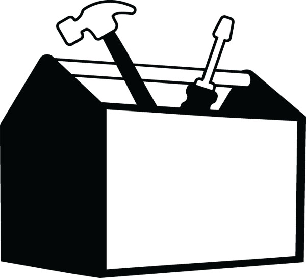 Free Toolbox Clipart Black And White, Download Free Clip Art.