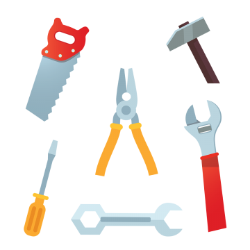 Carpenter Tools Png, Vector, PSD, and Clipart With.