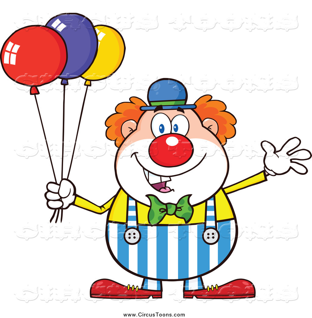 Royalty Free Cartoon Stock Circus Designs.