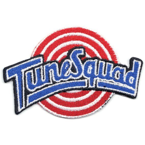 Tune Squad Basketball Team Logo Iron On Patch in 2019.